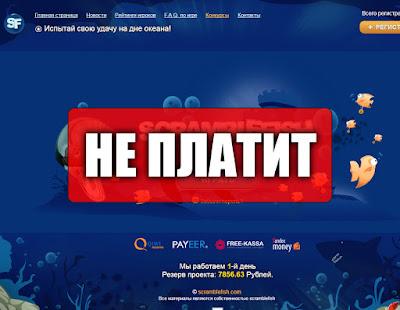 Скриншоты выплат с игры scramblefish.com