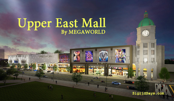 Upper East Mall Bacolod by Megaworld - Bacolod green mall - shopping - Bacolod real estate - Bacolod blogger - Upper East Side New York