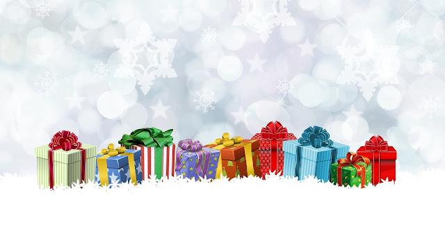 خلفيات كريسماس وهدايا بابا نويل