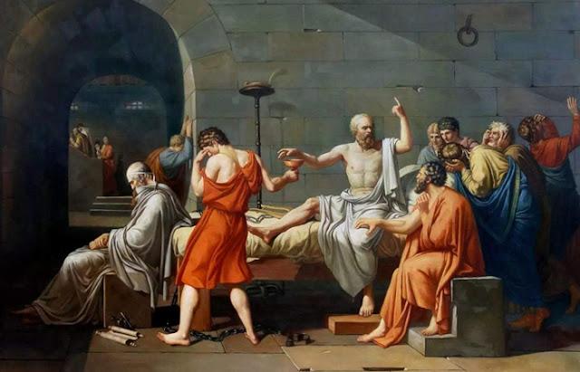 """""""Morte de Sócrates"""""""