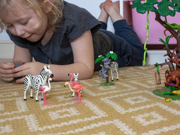 Review: Playmobil Zoo Extension Sets (Orangutan, Zebra, Koala and Flamingo)