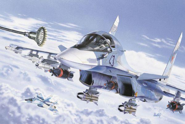 Pesawat Pembom Su-34 (Fullback) Gunakan Rudal Kh-35U Sebagai Rudal Anti Kapal Untuk Pertama Kali