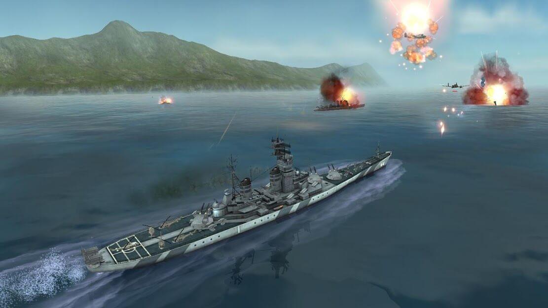 WARSHIP BATTLE 3D World War II APK MOD Dinheiro Infinito 2021 v 3.3.1