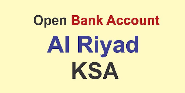 Bank Al Riyad Open Account