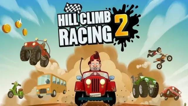 تحميل لعبة 2 hill climb racing مهكرة جاهزة