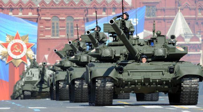 Parade tank Rusia
