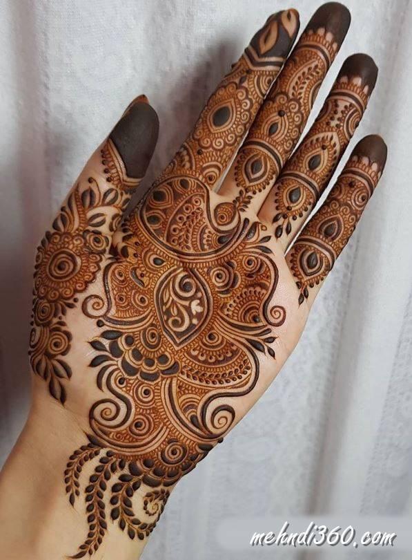 Subh Labh Mehndi Designs Front