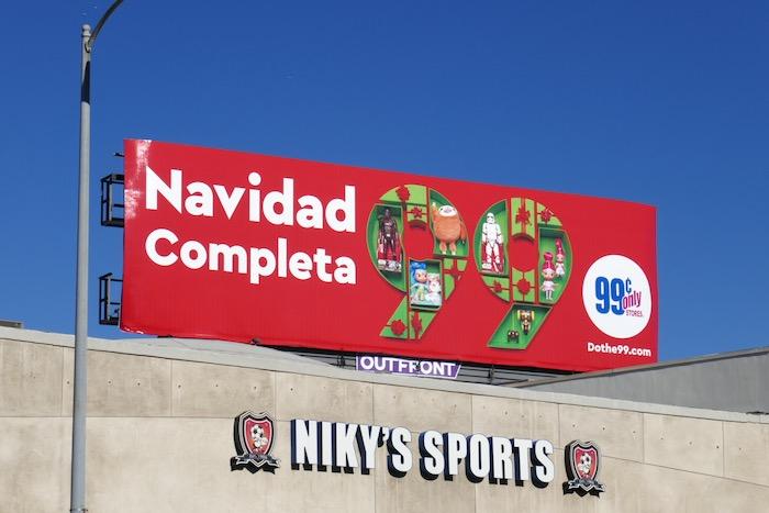 Navidad Completa 99c billboard