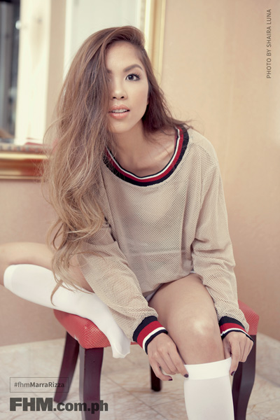 Mara Aquino in sweaters and panties