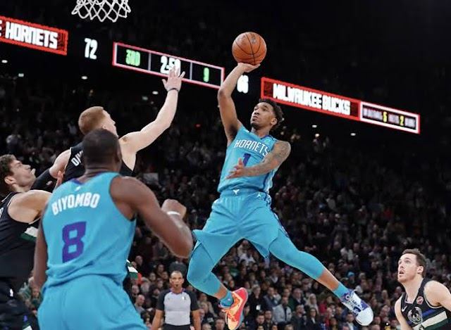 Malik Monk comeback scored three points 1.4 seconds ahead while the Charlotte Hornets banded together at the last minutes