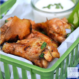 Honey Hot Wings | by Life Tastes Good