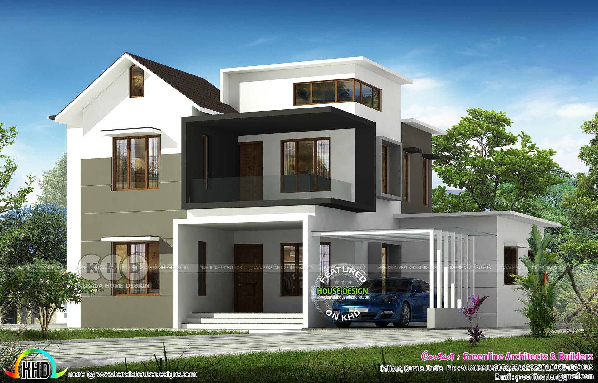 ₹35 Lakhs full finish house design 2200 sq-ft - Kerala ...