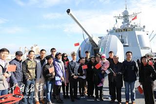 Visita del 27 Grupo Operativo de Escolta a Argel