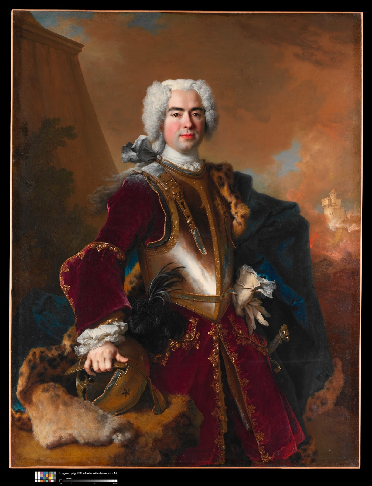 Francois Illas New Tradition: Nicolas De Largillierre: Portrait Of André François Alloys