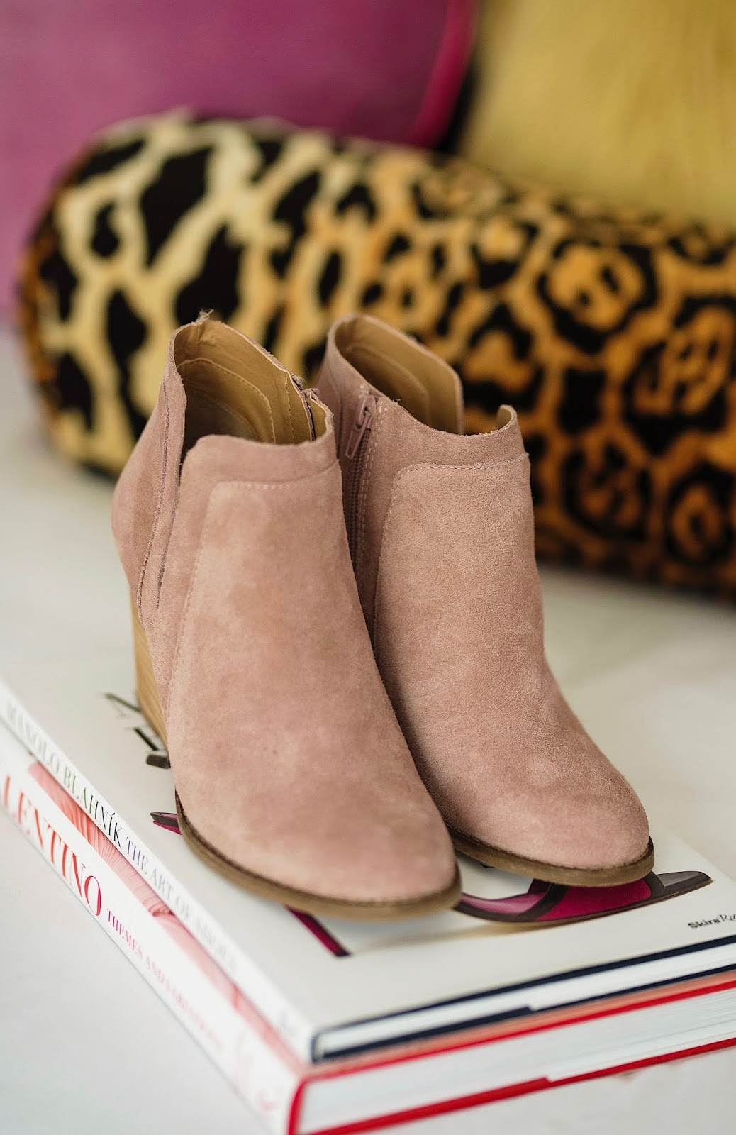 Nordstrom Anniversary Sale Lucky Brand Yabba Wedge Bootie - Something Delightful Blog