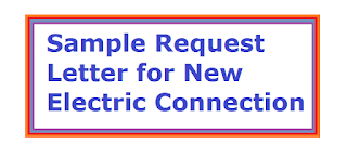 Sample request letter for new electric connection electric meter request letter to new electric connection electric meter spiritdancerdesigns Images