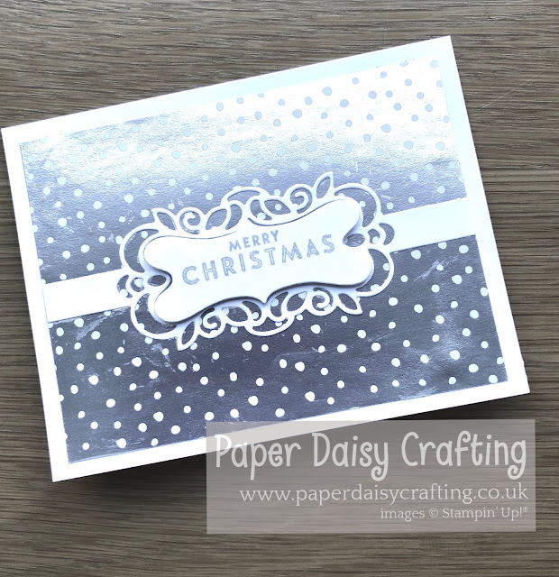 Feels Like Frost Detailed Bands Stampin Up