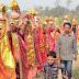रामधुनी संकीर्तन के संकल्प को लेकर 151 कन्या एवं महिलाओं ने निकाली कलश यात्रा