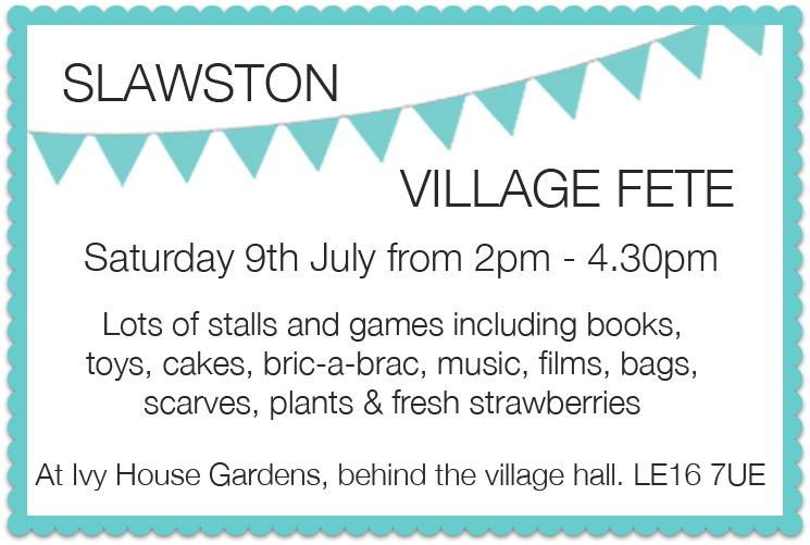 Slawston village fete