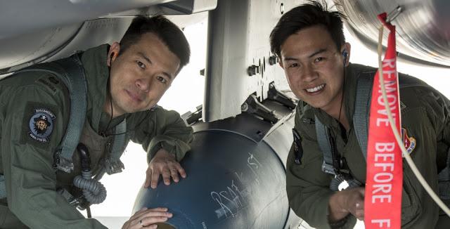 Không Quân Cộng Hòa Singapore tiếp tục được huất luyện tại Hoa Kỳ