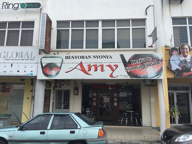 Malacca Food - Amy Heritage Nyonya Cuisine