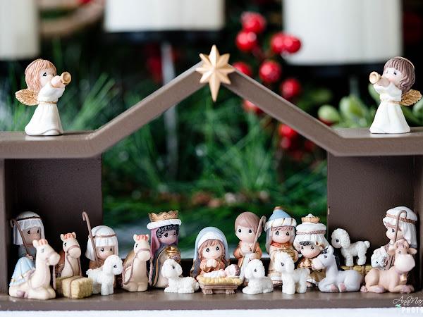 Reasons To Celebrate The Christmas Season With A Nativity Advent Calendar ~ #PreciousMoments