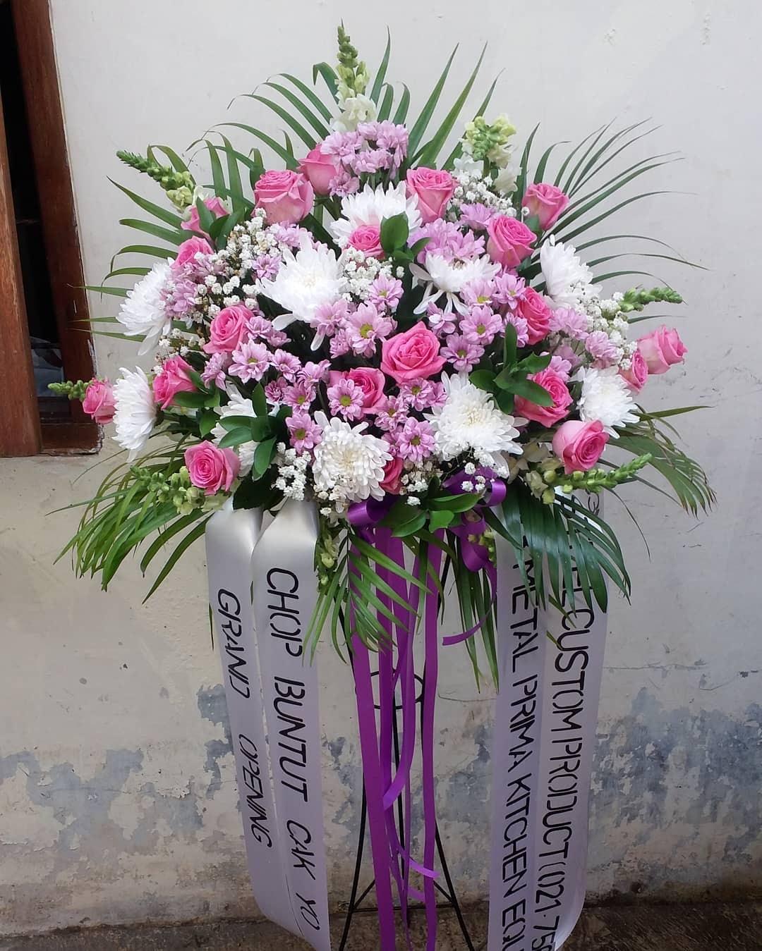 Karangan Bunga Standing Flowers 016