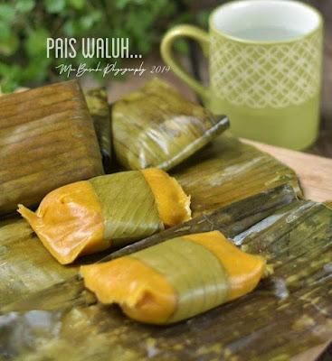 Resep Jajanan Pasar - Pais Waluh [[ Nagasari Labu Kuning ]]