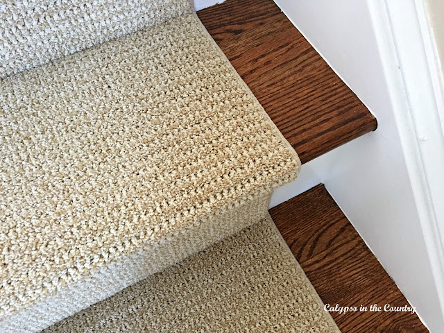 Sisaltex Stair runner in Indochine color - a great substitute for sisal
