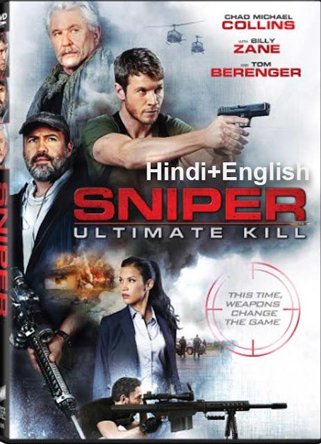 Sniper Ultimate Kill (2017) 720p HDRip Dual Audio (Hindi+English) Download