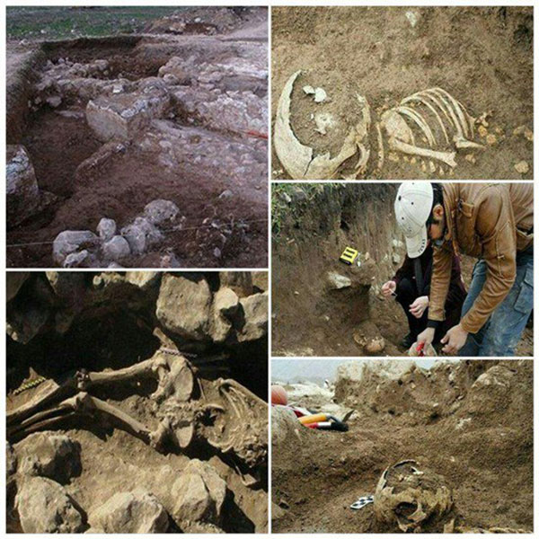 El esqueleto de tres metros era de un hombre muy importante