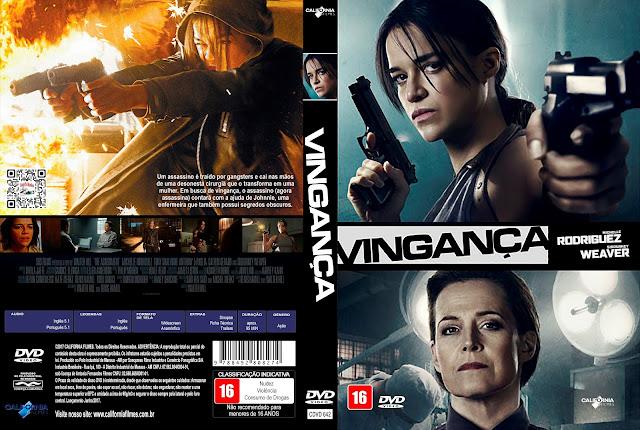 Capa DVD Vingança [Custom]