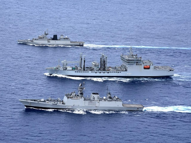 In Snub To China, India's Naval  Alliance Now Includes Australia