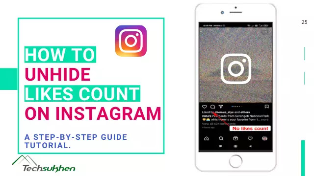 Likes not showing on instagram? Here's how to unhide likes on instagram