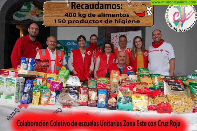 El colectivo entrega este miércoles día ll el producto del trabajo solidario realizado en nuestra campaña por la paz