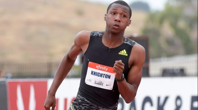 A 17-year-old boy breaks Bolt's 18-year-old record! (VIDEO)
