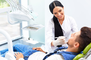 Dental Assistant Determining Sensitivity
