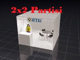 PARTISI PAMERAN STANDAR 2X2