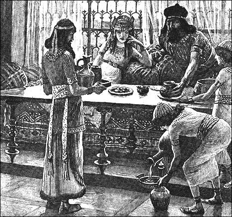 Nehemiah the cupbearer to persian king