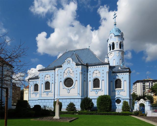 Church of St. Elizabeth (Kostol svätej Alžbety), Bezručova, Bratislava
