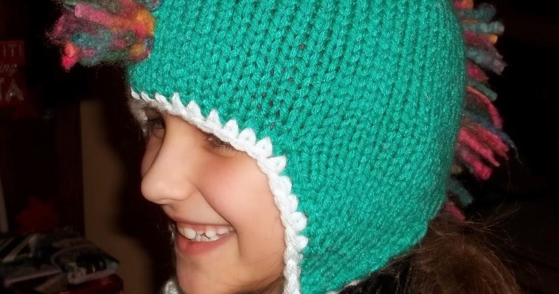 Jaime Of All Trades Free Kids Mohawk Ear Flap Hat Pattern