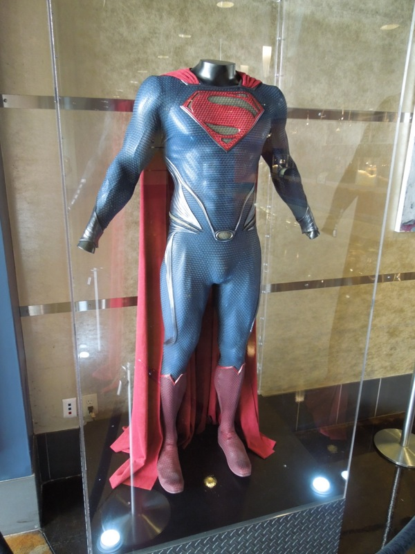 Original Man of Steel Superman costume