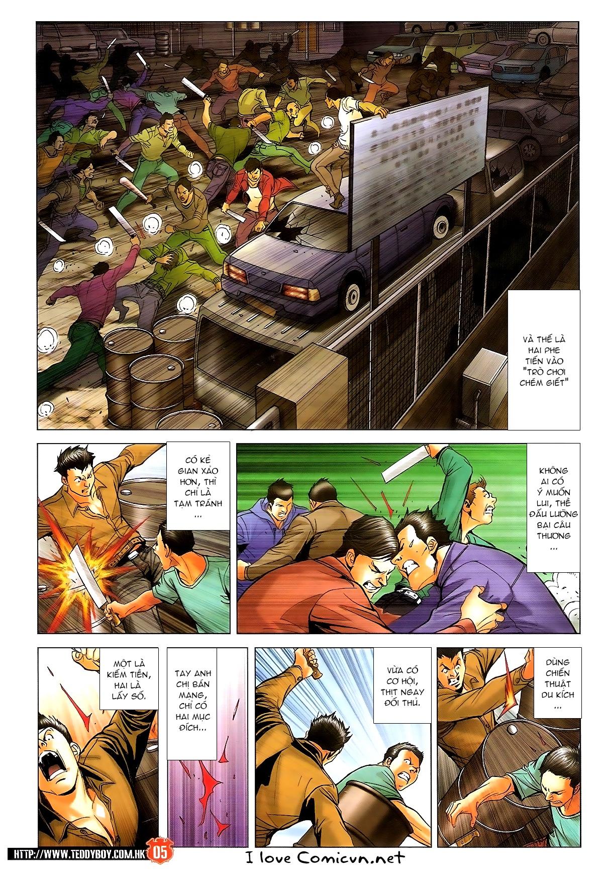 Người Trong Giang Hồ chapter 1702: lịch sử trùng diễn 3 trang 3