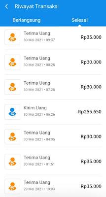 Bukti Pembayaran Dari Aplikasi TikTok