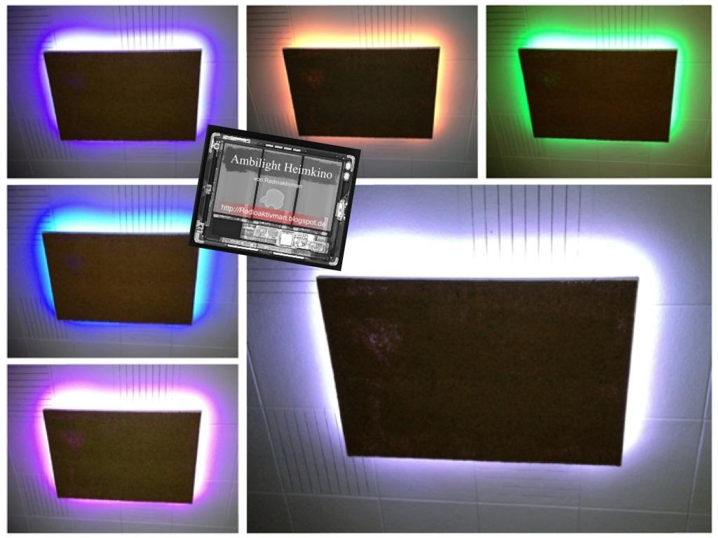 tv hintergrundbeleuchtung vansky rgb usb led strip leisten f r hdtv gaming pc 2x50cm led. Black Bedroom Furniture Sets. Home Design Ideas