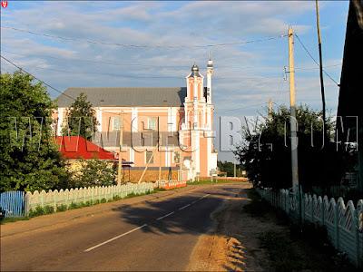 Католическая церковь в Борунах