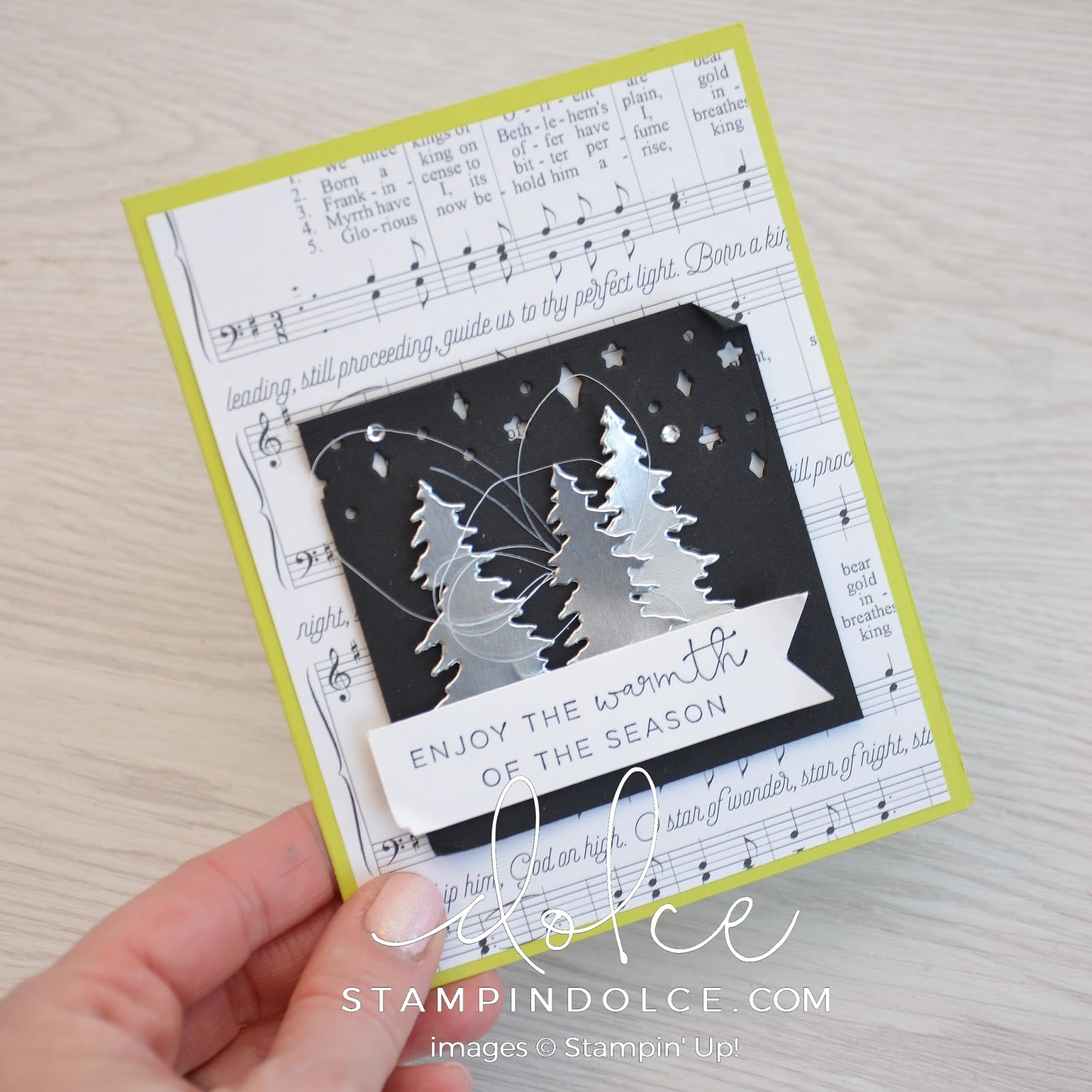 Stampin Dolce Cocktails Amp Christmas Cards 2017