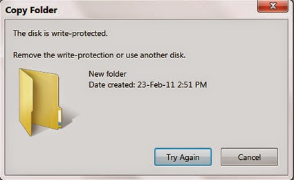 usb flash drives write protected gdrive