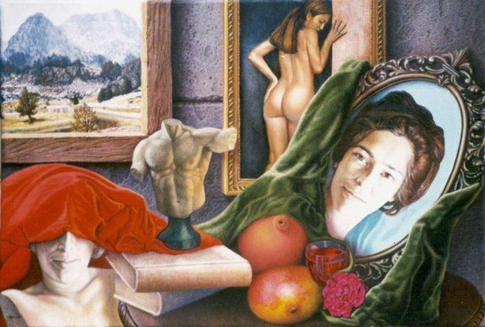 Кубинский художник. Ignacio Nazabal