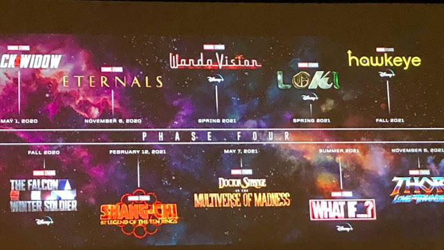 Marvel La fase 4